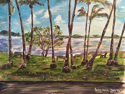 Southeast Asia Painting - I Am Always With You by Belinda Low