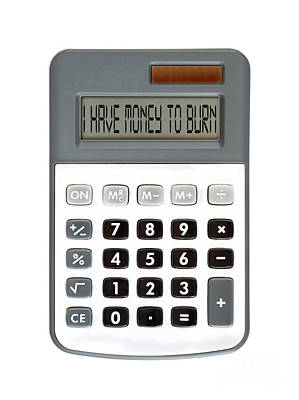 Accountancy Photograph - I Am Broke by Michal Boubin