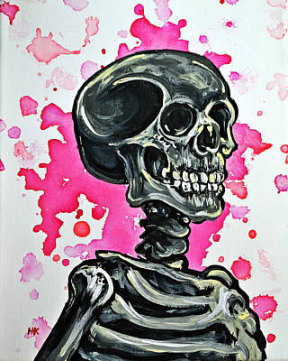I Am Dead Inside  Art Print by Ryno Worm  Tattoos