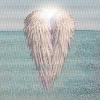 Angel Drawing - I Am Divine by David M ( Maclean )