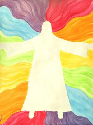 Painting - I Am Faithful by Sandra Yegiazaryan