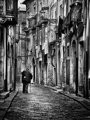 Narrow Photograph - I Am... by Gennaro Parricelli