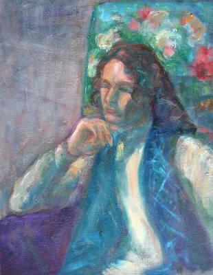 I Am Heathcliff - Original Painting  Art Print