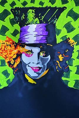 Mad Hatter Mixed Media - I Am Johnny by Caesaray Starbuck