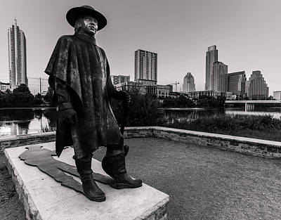 Stevie Ray Vaughan Photograph - I Am Legend by William Huchton