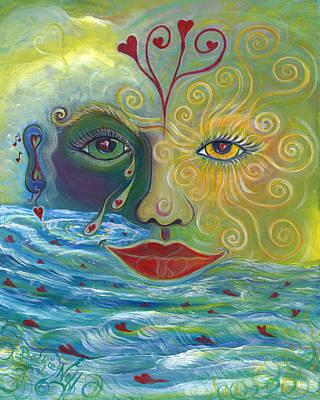 I Am Love Art Print by Beckie J Neff