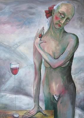 I Am Ready Art Print by Elisheva Nesis