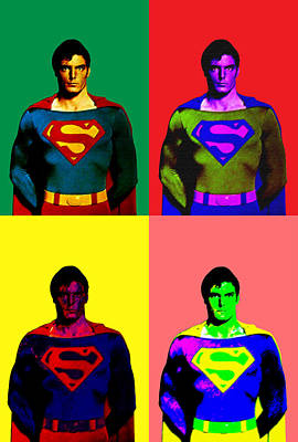 Digital Art - I Am Superman by Saad Hasnain