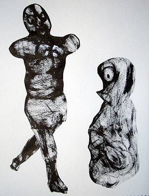 I Am The Champion Art Print by Aquira Kusume