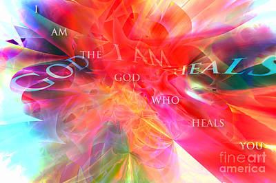 Digital Art - I Am The God Who Heals You by Margie Chapman