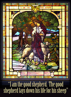 I Am The Good Shepherd Art Print