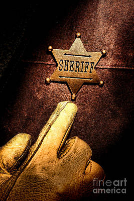 Law Enforcement Photograph - I Am The Law by Olivier Le Queinec