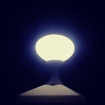 I Phone Photograph - I Am The Light #lamp #love #light by Veronica Lopulalan