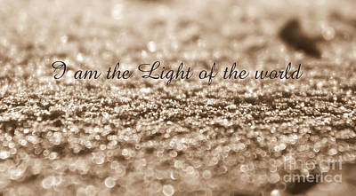 Photograph - I Am The Light Of The World by Andrea Anderegg