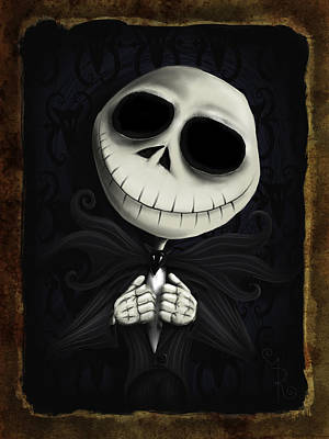 Whimsical Drawings Photograph - I Am The Pumpkin King by Mark Rodriguez aka Godriguez