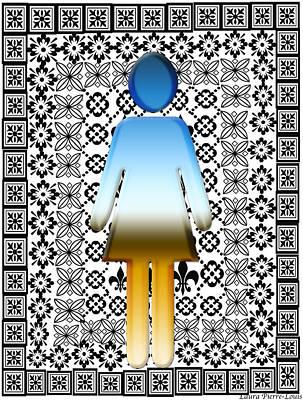 Digital Art - I Am Woman by Laura Pierre-Louis