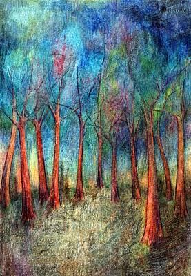 I Arose Morning  Art Print by Wojtek Kowalski