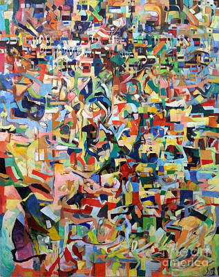 Rav Painting - I Believe This And Understand It Fully Well 17 by David Baruch Wolk