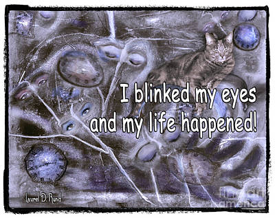 I Blinked My Eyes Art Print