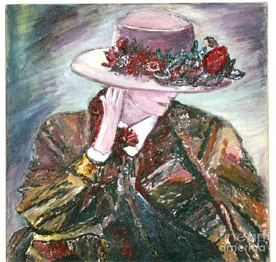 Painting - I Borrowed My Mother's Hat by Helena Bebirian