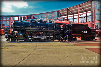 Illinois Central Railroad Photograph - I. C. R. R. 790 by Gary Keesler