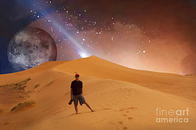 Digital Art - I Come With You by Angelika Drake