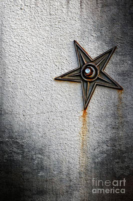 Pentagram Photograph - I D E O G R A M by Charles Dobbs