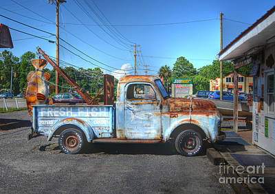 Photograph - I Do Hope The Fish Is Fresher Than The Truck by Kathy Baccari