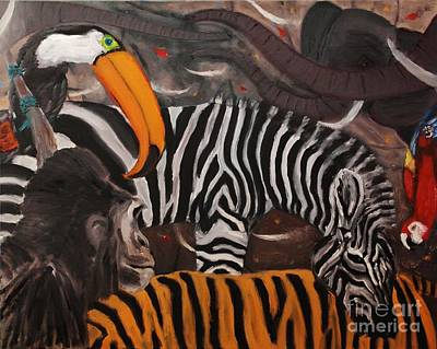 I Dream Of Africa Art Print