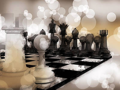 I Dream Of Chess ... Print by Daniel Hagerman