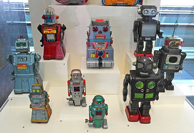 Photograph - I Dream Of Robots by Michele Myers