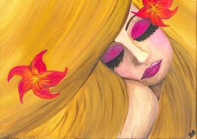 I Dreamed Of You 2 Art Print by Beril Sirmacek