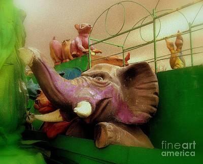 I Elephant Art Print
