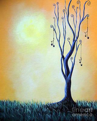 Passionate Painting - I Feel Like Singing By Shawna Erback by Shawna Erback