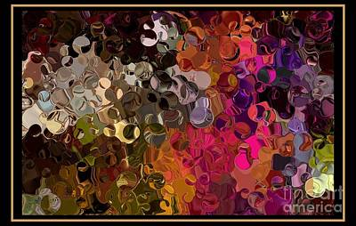 I Found My Marbles Digital Abstract Art By Steven Langston Art Print