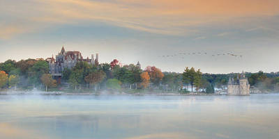 Boldt Castle Photograph - I Get Misty by Lori Deiter