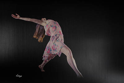 Dancers Photograph - I Give Myself To Rhythm by T Lang