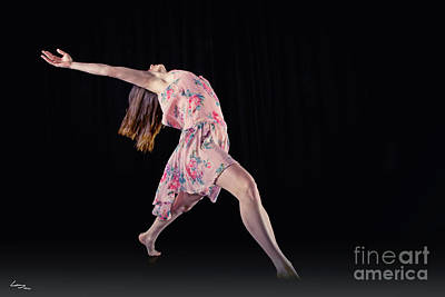 Ballet Photograph - I Give Myself To Rhythm by T Lang