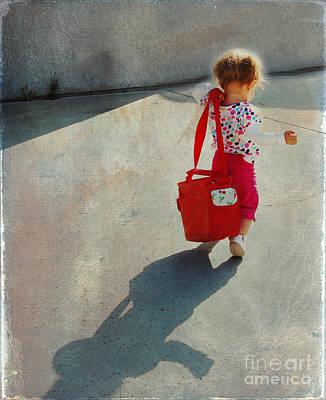I Go To Work Like Momma Print by Laura Sapko