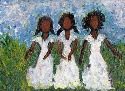 Painting - I Got All My Sisters In Me by Brenda Robinson