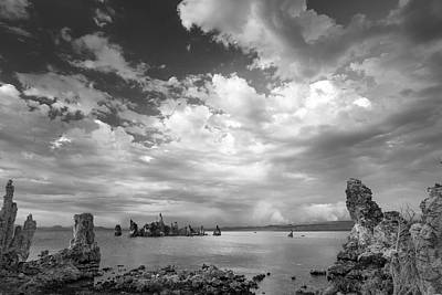I Hear The Clouds Print by Jon Glaser