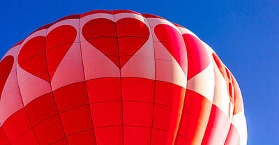 Photograph - I Heart Balloons by Teri Virbickis