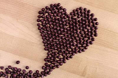 I Heart Chocolate Art Print