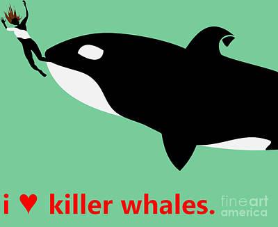 I Heart Killer Whales Original