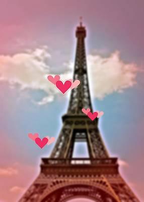Photograph - Heart Paris by JAMART Photography