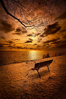 Benches Photograph - I Know You Will Always Be There by Phil Koch