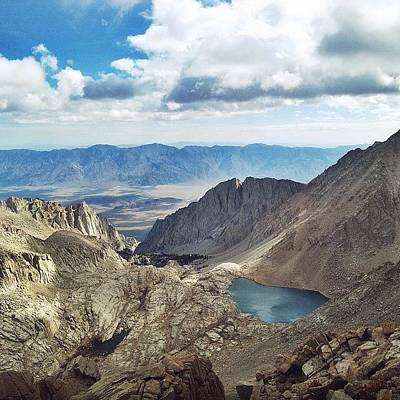 Trail Photograph - Mt. Whitney by Kimberly Coates