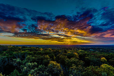 Waukesha County Photograph - I Look At The World And I Notice It's Turning by Randy Scherkenbach
