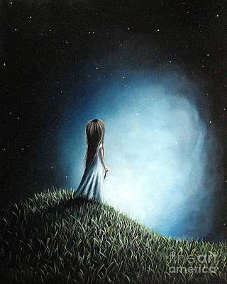 I Love Her So Much I Cry By Shawna Erback Art Print by Shawna Erback