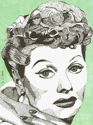 I Love Lucy Art Print